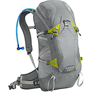 Camelbak 2016 Pursuit 24 LR Hydration Pack, Gunmetal/Lime Punch