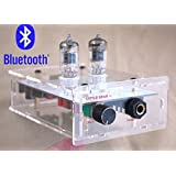 【TYSJ】Nobsound? オーディオレシーバー Bluetooth Transparent Chassis valve 6J1 tube HIFI AMP ステレオ HIFI オーディオ ヘッドフォンアンプ/プリアンプ / 真空管アンプ