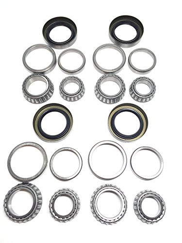 Seals Tandem (Westernprime 3500# Trailer Tandem Axle Bearing Kits L68149 L44649 Grease Seal 10-19 I.D. 1.719'' for #84 Spindle (Sets of)
