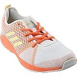 adidas Women's Arianna Cloudfoam White/Orange Peach Ankle-High Running Shoe – 6.5M Review