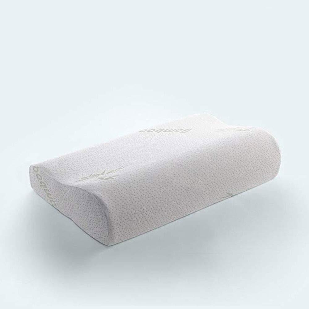 JJSFJH アレルギーを軽減します。低反発枕輪郭柔らかくて快適なしっかりしたヘッドネックバックサポート整形外科枕 B07TCWCDPT