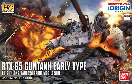 Bandai Hobby HG The Origin 1/144 Guntank Early Type Gundam The Origin Model Kit from Bandai Hobby