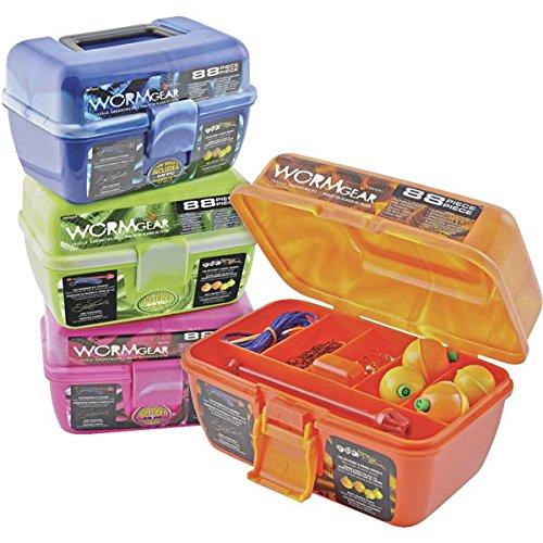 Worm Gear 88-Piece Tackle Box – 1 Each