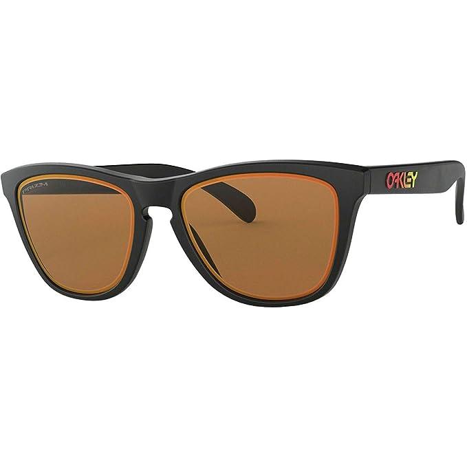 Oakley Frogskins, Gafas de Sol para Hombre, Negro, 54