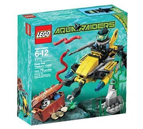 with LEGO Aqua Raiders design