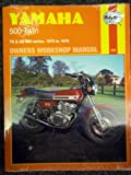 Haynes Yamaha 500 Twin Owners Workshop Manual, '73-'76, Clew, Jeff, 0856963089