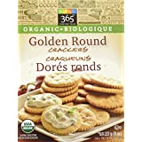 365 Everyday Value Organic Golden Round Crackers, 8 oz