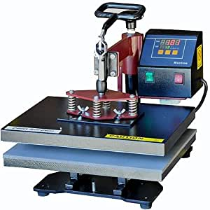 PowerPress 6-in-1 Industrial-Quality Digital Swing-Away Heat Press