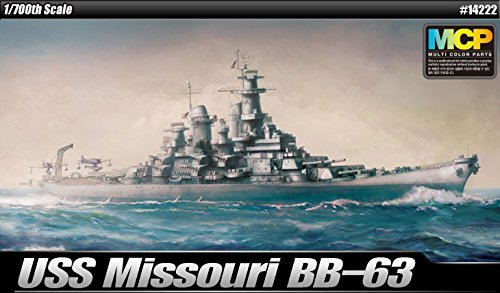 1/700 USS Missouri BB-63 #14222 ACADEMY MODEL KITS (Missouri Bb Uss)