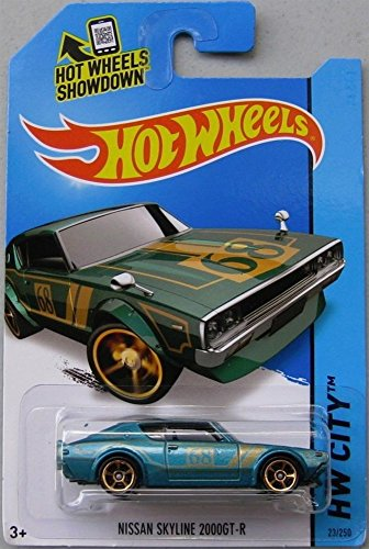 2014 Hot Wheels Hw City Nissan Skyline 2000GT-R