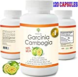 120 Capsules Extreme Fat Burner Super Weight Loss Diet Pills 2 Month Supply 100% Pure 1600mg Garcinia Cambogia Extract Research Verified Live Well USA