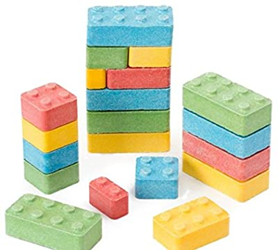 BUILDING Blox CANDY Blocks (1 pound bag) by FIRST CLASS VENDING