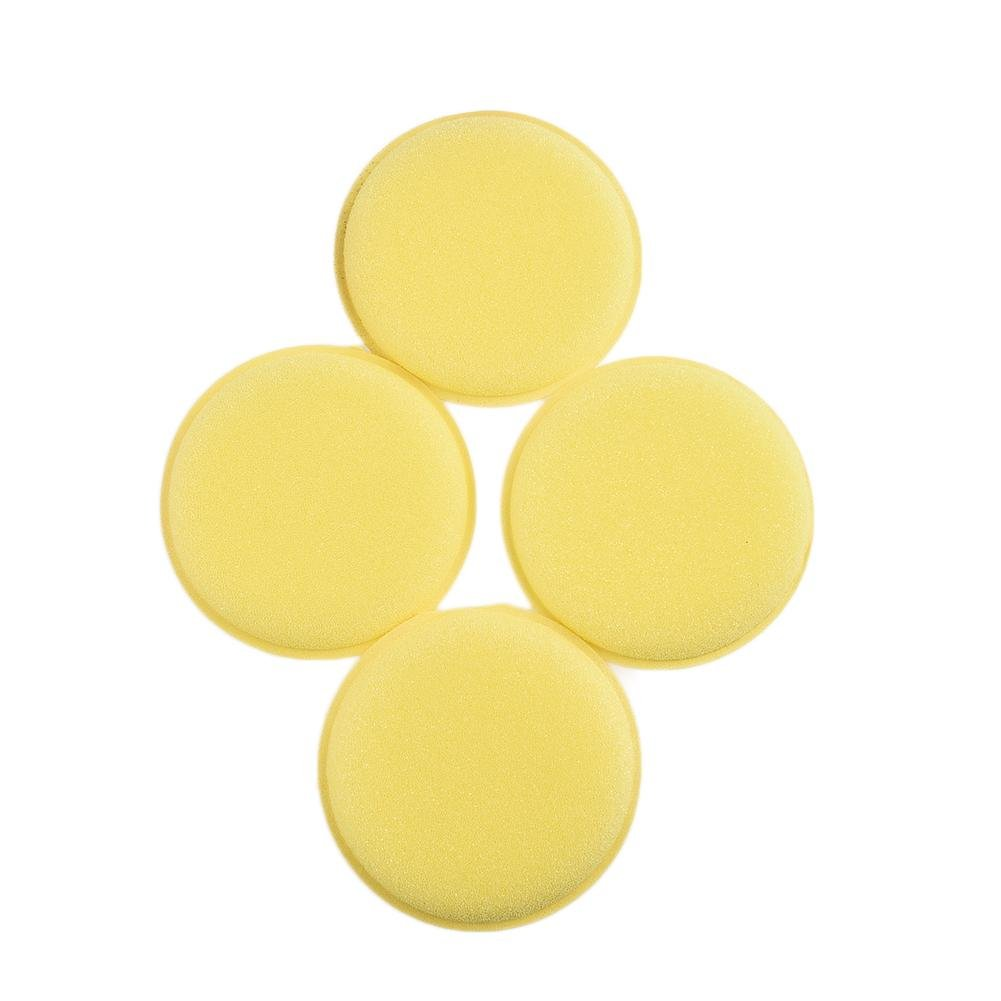 Luckybaby Wax applicator Pad for waxes, Polishes, Paint Cleaner, Car Polish, Instead of polishing Machine - High Qualtiy Sponge Polishing Wax Pad Set of 12