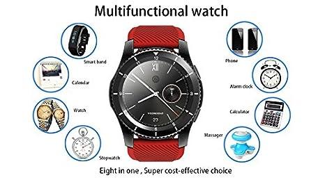 Amazon.com: Kktick G8 Smartwatch Bluetooth 4.0 SIM Card Call ...