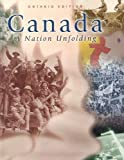 img - for Canada : A Nation Unfolding book / textbook / text book