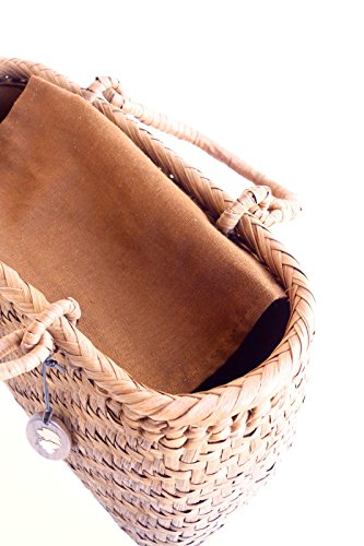 Yamako Mountain Grape Basket Handbag with Inner Cloth 88046 by Yamako (Image #6)