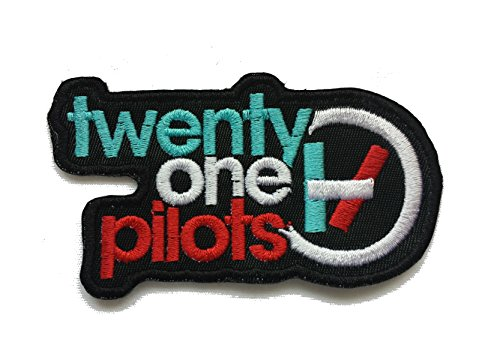 InspireMe Family Owned Twenty One Pilots Embroidered Iron-on Patch 4.25