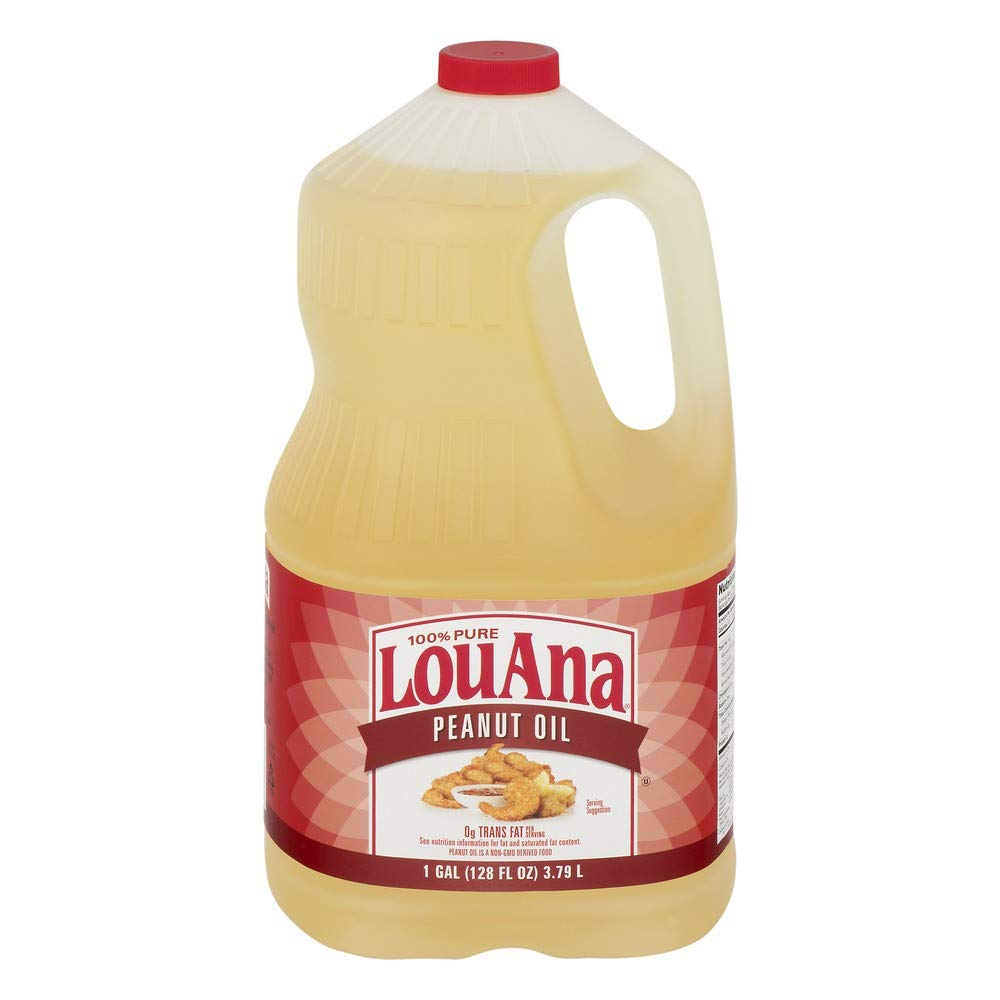 pack of 3 - LouAna Peanut Oil, 128.0 FL OZ by LouAna