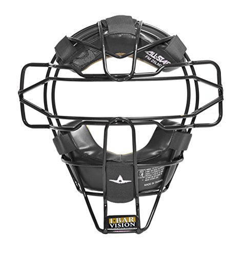 All-Star FM25LMX Traditional Face Mask Baseball (Black)