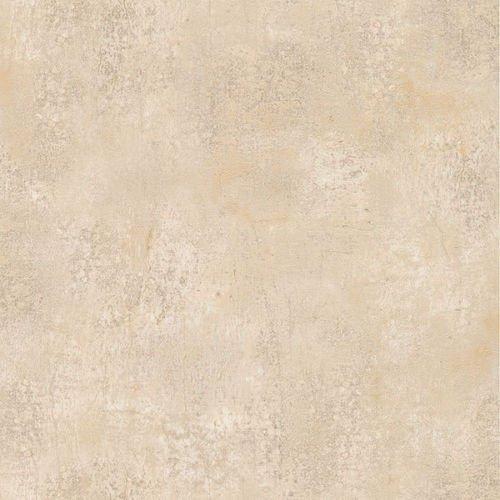 Warm Beige Crackle Faux Wallpaper