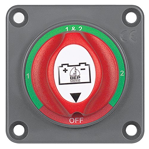 Bep Panel Mounted Battery Mini Selector Switch (Part #701S-Pm By Bep Marine)