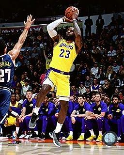 Amazon Com Lebron James Los Angeles Lakers 2018 Nba Action Photo