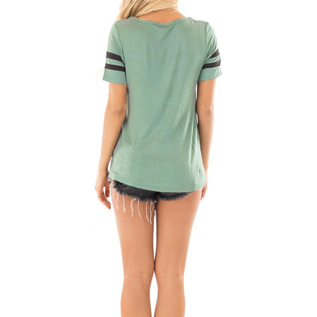 OHQ Camiseta de Manga Larga con Cuello EN v Cruzada de Mujer Criss Tops, Blusas de Mujer y Tops de Moda, Blusas Blusas Para Mujeres Blusas Para Mujer Moda ...