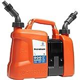 HUSQVARNA combi 5L huile de chaîne de carburant et 2.5L peut