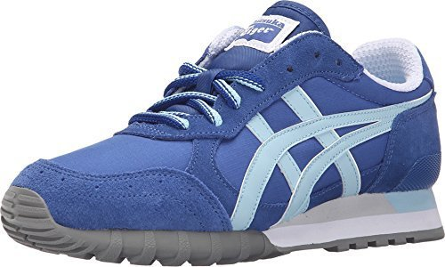 Onitsuka Tiger Women's Colorado Eighty-Five Classic Running Shoe, Monaco Blue/Crystal Blue, 10.5 M US