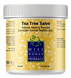Wise Woman Herbals – Tea Tree Salve – 2 oz – Natural Aid for Common Causes of Skin Irritation, Promotes Normal Healthy Skin, Helps Aid Dry Itchy Skin and Irritation on Toenails, Fingernails, and Body Review