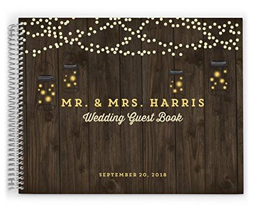 Spiral Wedding Guest Book - 5
