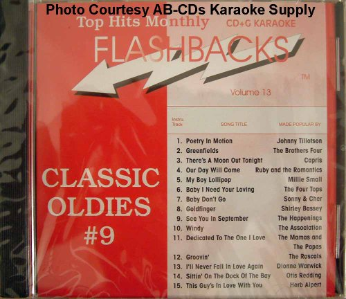 - Top Hits Monthly Karaoke Flashback Vol. 13 Classic Oldies #9