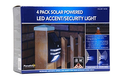 Solar Powered Led Accent Security Lights