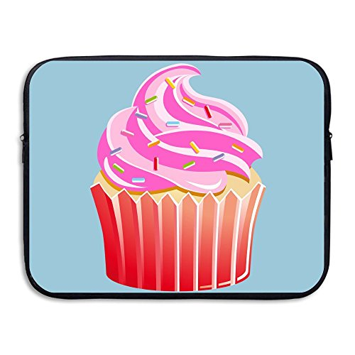 Reteone Laptop Sleeve Bag Sweet Cupcake Sketch Clipart Cover Computer Liner Package Protective Case Waterproof Computer Portable -