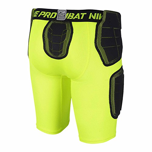 Nike Pro Hyperstrong Hardplate Taillierte Jungen Fußballshorts Grün