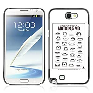 Lmf DIY phone case [Cool Moustache Styles Movember] Samsung Galaxy Note 2 CaseLmf DIY phone case