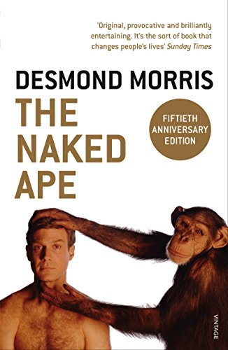 Naked woman with ape