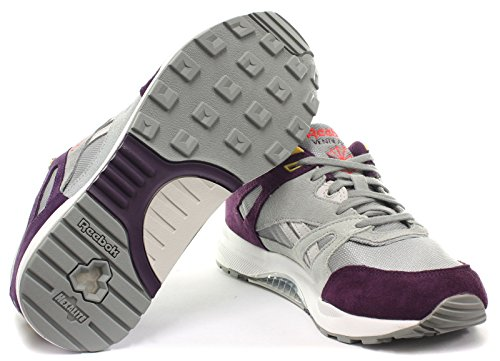 Reebok Classic Ventilator Co-Op Damen Wildleder Retro Sneakers, Grau