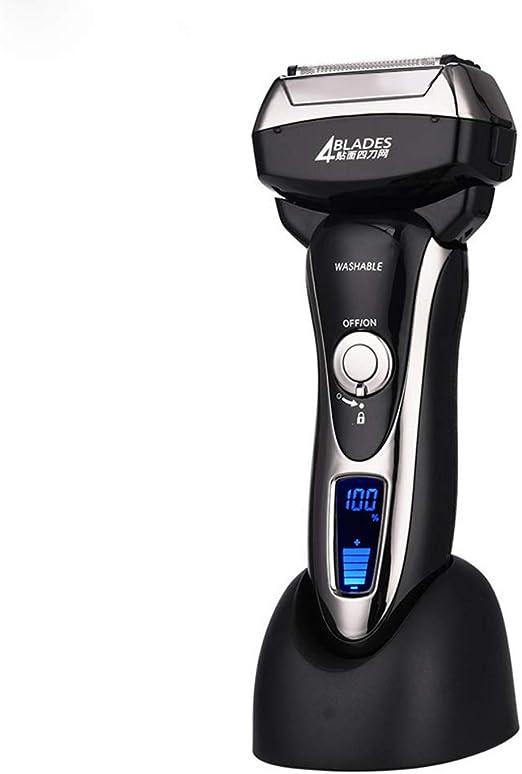 4 Cuchillas Profesional Máquina de Afeitar en Seco y Afeitado ...