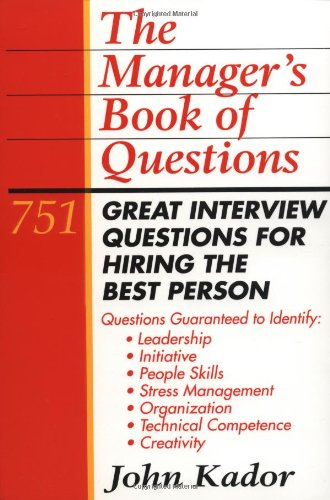 Manager's Book of Questions