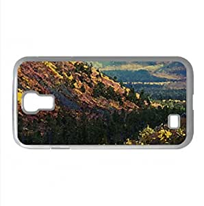 Mountain Slopes Autumn Watercolor style Cover Samsung Galaxy S4 I9500 Case (Autumn Watercolor style Cover Samsung Galaxy S4 I9500 Case)