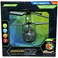 Diamond Fly Ball Multicolor LED Ball Quadcopter, 5 X 4 inches