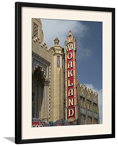 ArtEdge 1928 Fox Theater Sign, Oakland, California Photographic Print Framed, 25