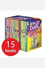 Roald Dahl Collection 15 Fantastic Stories Box Set Including Boy, The BFG, Matilda and Charlie and the Chocolate Factory Paperback