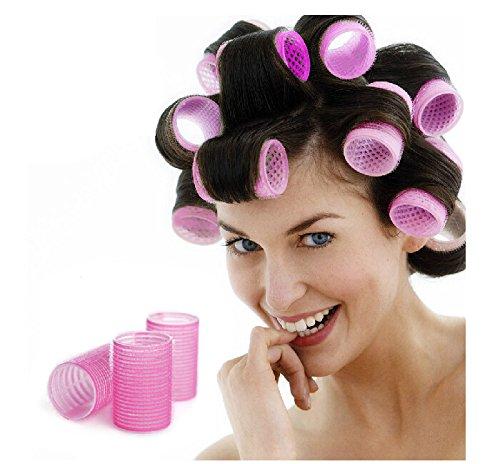 Beau Belle Hair Rollers Curlers - Hair Rollers - Hair Roller Set - Haarrollen - Hair Curler - Curler - Hair Curlers - Haar Roller - Haar Accessoire - Haarcurler - Lockenwickler