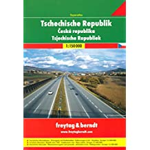ATLAS ROUTIER RÉP. TCHEQUE - CZECH REP. ROAD ATLAS