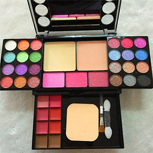 [Tmalltide Professional colour makeup eyeshadow set 37 color makeup set 24 color eye shadow makeup compact disk group box] (Justice Makeup Kit)