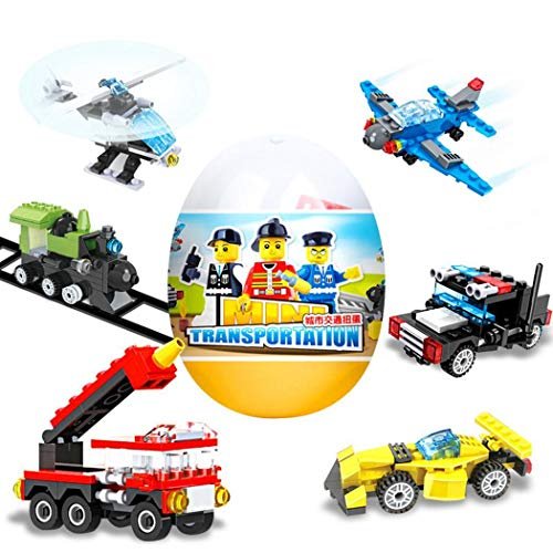 Kaimu DIY Random Children Building Block Twisted Egg Toy Educational Toys Stacking Blocks