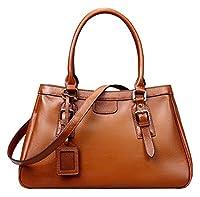 Heshe® Women's Fashion New Top Tote Handle Shoulder Crossbody Bag Vintage Handbag Purse