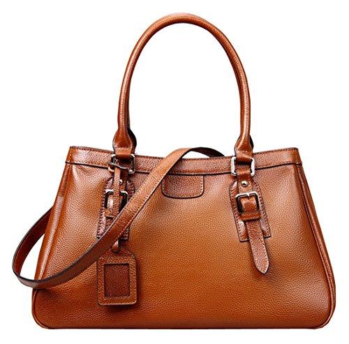 0142f2a6cfb On Clearance Big Sale Heshe Women's Fashion New Top Tote Handle Shoulder  Crossbody Bag Vintage Handbag Purse - Buy Online in Oman.